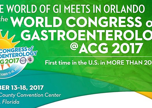 Lecture of J.E. Domínguez-Muñoz at the World Congress of Gastroenterology and American College of Gastroenterology, Orlando 13-18 October 2017